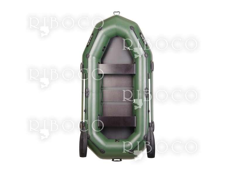 Надуваема лодка Bark B-280P гребна-моторна триместна