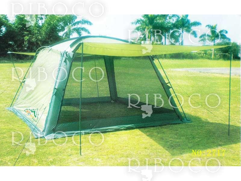 Палатка с навес BORA 2717 - 5 местна