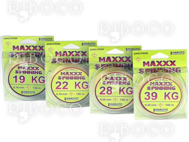 Плетено влакно Hakuyo MAXXX SPINNING