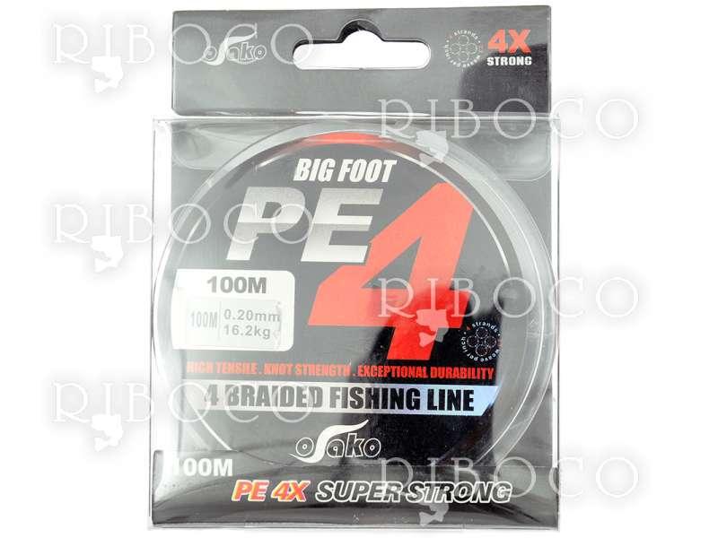 Плетено влакно Osako BIG FOOT PE4 - 100 m