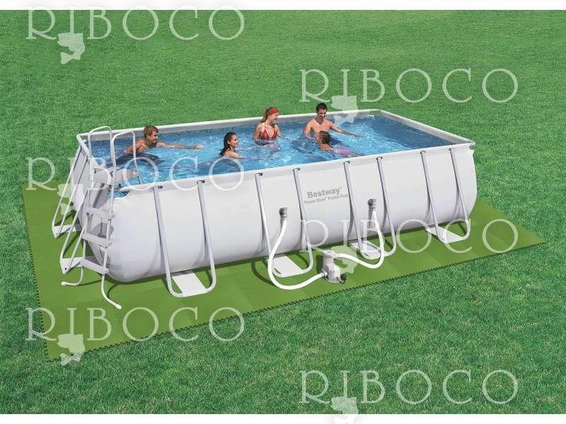Bestway 58265 плочки за подова настилка на басейн комплект 8 бр 81 х 81 см
