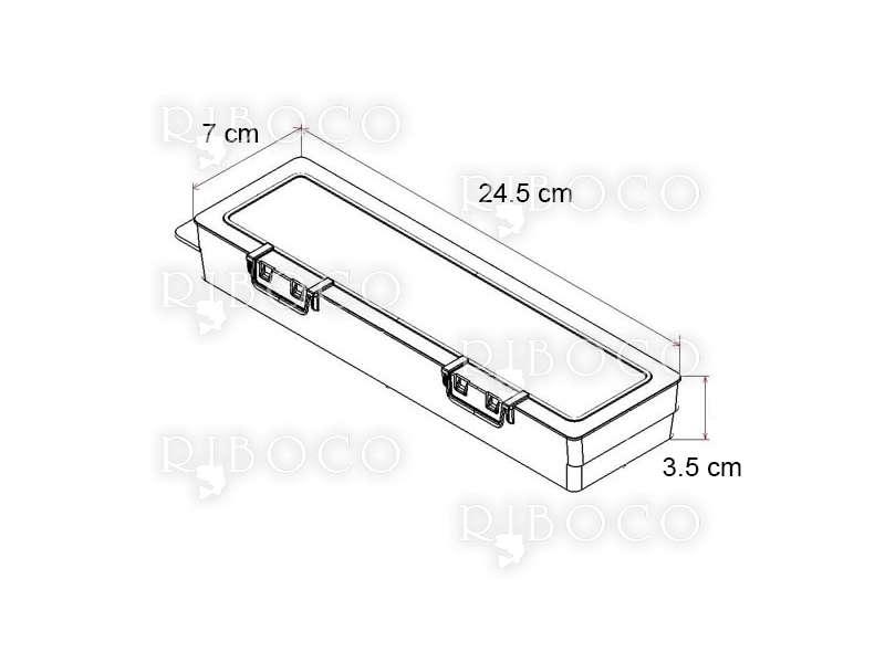 Плувки Eagle Eye B11 - 10 бр + подарък кутия за плувки Plastica Panaro F2